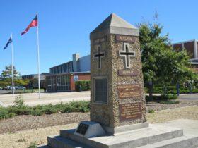 George Town Community/RSL War Memorial obelisk