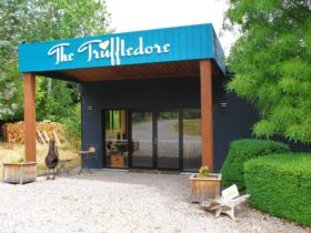 The Truffledore tasting room and cafe