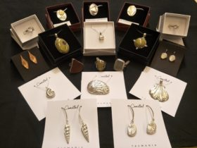 Our jewellery artists include; Olivia Hickey, Noelene Hammond, Julie Hensen and Rare & Beautiful