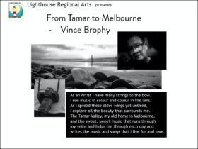 From Tamar to Melbourne - Vince Brophy