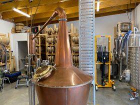 Hillwood Whisky Copper Still