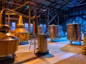 Launceston Distillery Whisky Stills