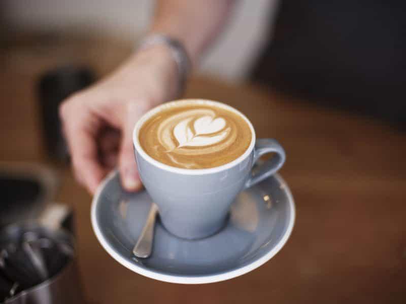 latte art local cafe