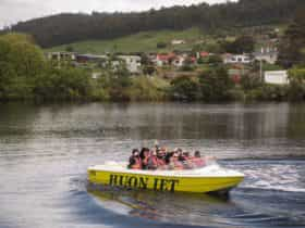 Huon River Jet Boat