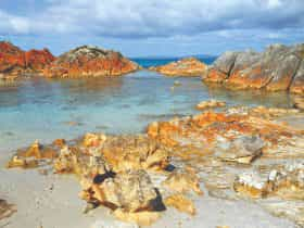 Bay of fires Walk Day 2 at Eddystone Point