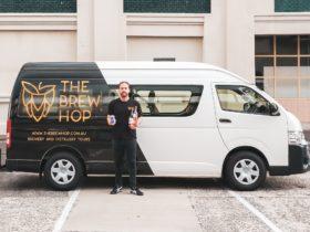 Brew Hop Van