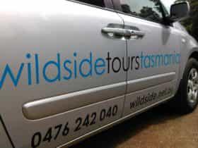 Wildside Tours Tasmania Van