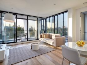 Take in the view of Melbourne from one of the spectacular View Apartments