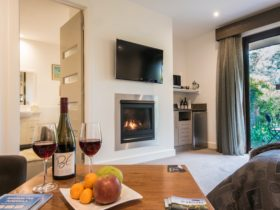 Bright and airy suites with Kitchenette facilities: microwave, mini fridge, kettle & toaster