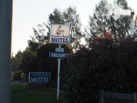 Motel Front entrance