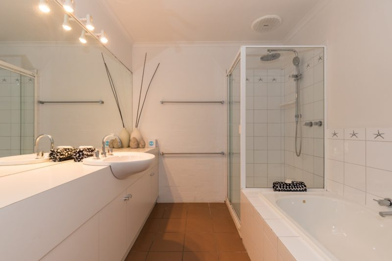 Main Bathroom, Separate Bath and Shower, with Rain Head