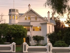 Front of Eastern Beach Art House