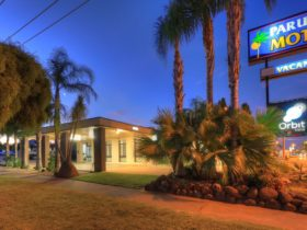 Paruna Motel entrance