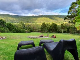 Your own private view looking over the southern Otway's and Gellibrand river valley