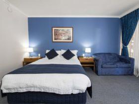 Spacious standard rooms