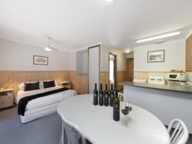 Unwind, relax & enjoy delicious wines, great food & company just a stone throw from your apartment