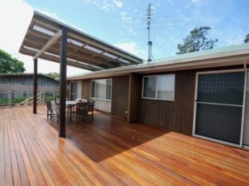 Deck at Nelson