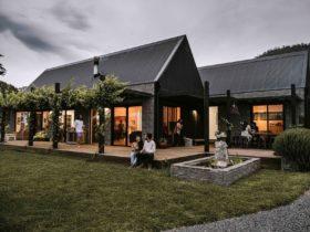 Modern farm house exterior based on a European barn
