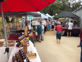 Aireys Inlet Market quality stalls of handmade and homegrown local products.