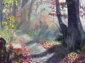 Bushwalk painting