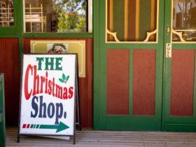 Entrance The Christmas Shop