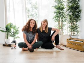 Kylie & Emily of Bright Yoga Space