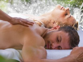 Wet-room body treatments and spa massage