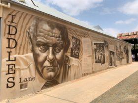 Iddles Lane mural