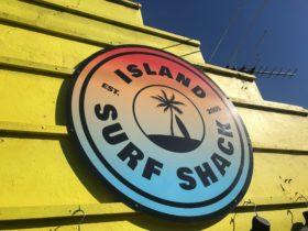 Island Surf Shack Sign