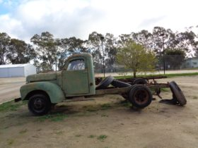 Fully restored truck from Kerang business can be viewed at museum.
