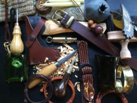 Artisan made products by traditional makers - Axes, Bracelets, Knives, Glassware, Ceramics, Belts