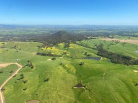 Mount Piper aerial view
