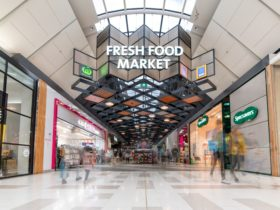 fresh food market section of the shopping centre