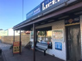 Front entrance of Peterborough Licensed Grocers