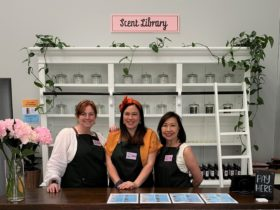 The friendly Red Hill Candle Co team