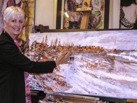 SALT and PEPPER GALLERY, Working Artist Studio, Artist: Catherine M Brennan