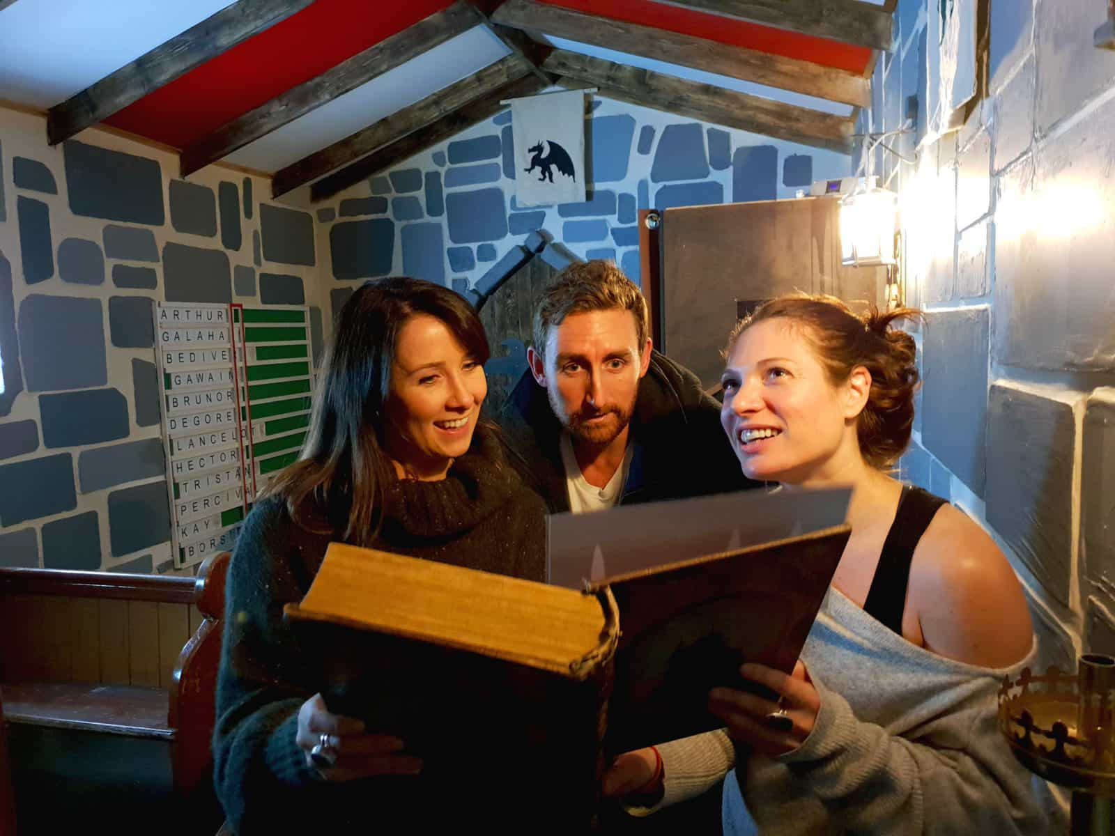 The Medieval Quest is Melbourne's biggest escape room game
