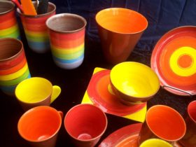 Bowls by Liz Kent
