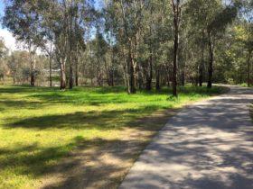 Three Mile Creek shared path