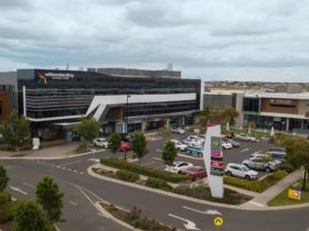 Shopping centre and carpark