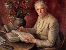 Dame Mary Gilmore, 1943 by William Joshua Smith