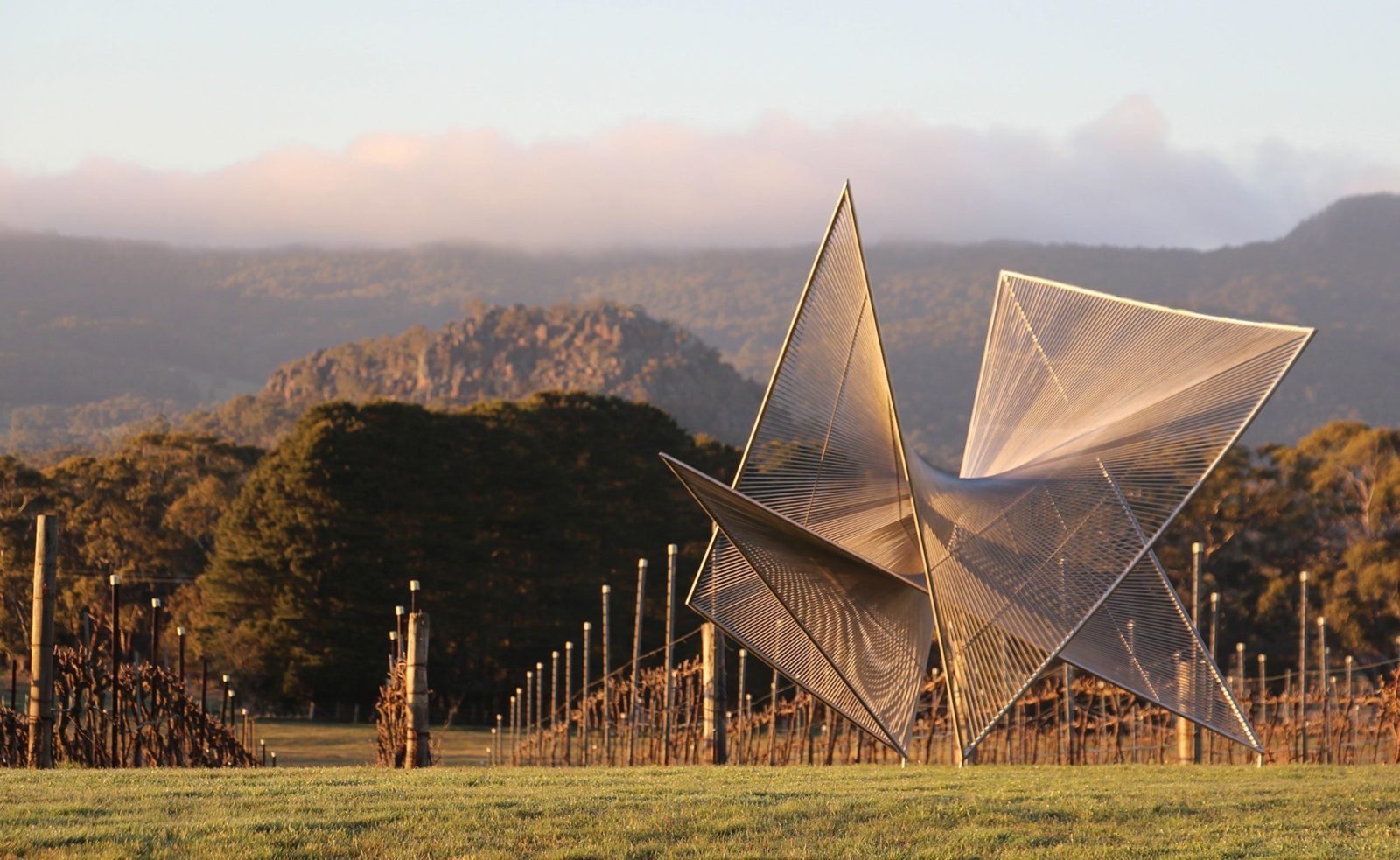 Art in the Vines at Hanging Rock Winery
