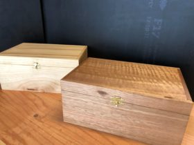 Build a small wooden box at School of Wood