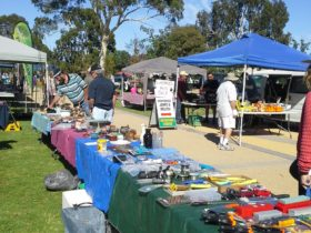 Cobram Lions Club Log Cabin Community Market