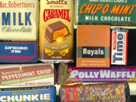 Examples of chocolate packaging