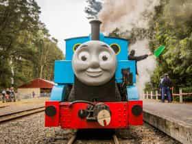 Thomas at Puffing Billy