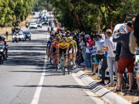 The men take on the infamous Mt Buninyong hill climb
