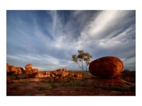 Late afternoon on the Devils Marbles, NT