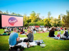Moonlight Cinema at Royal Botanic Gardens Victoria