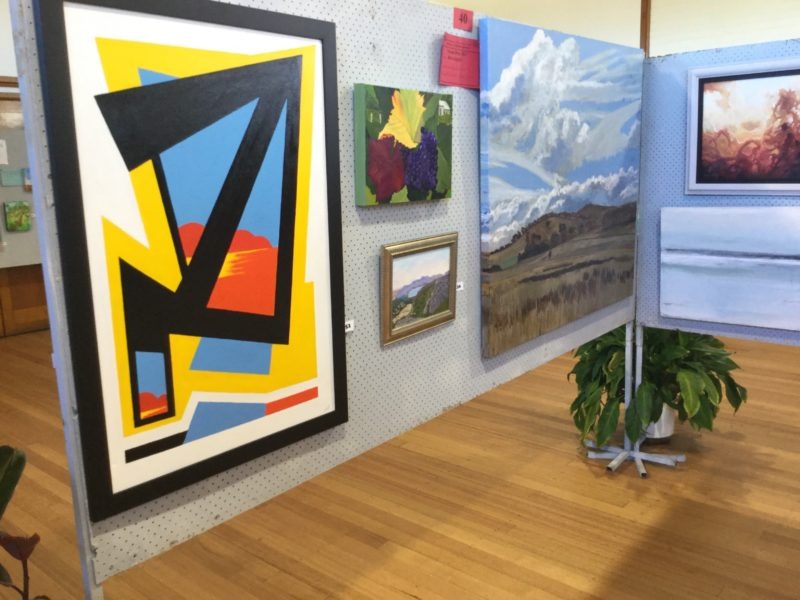 400 plus paintings are received each year from a wide range of artists using a range of media.